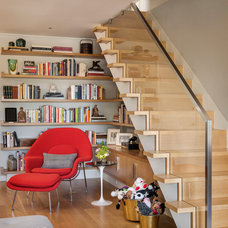 Contemporary Staircase by John K. Anderson Design