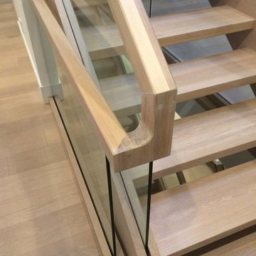 Two Level Contemporary Staircase