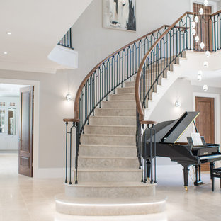 Photo of a classic staircase in Surrey.