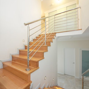Staircase - modern staircase idea in Perth