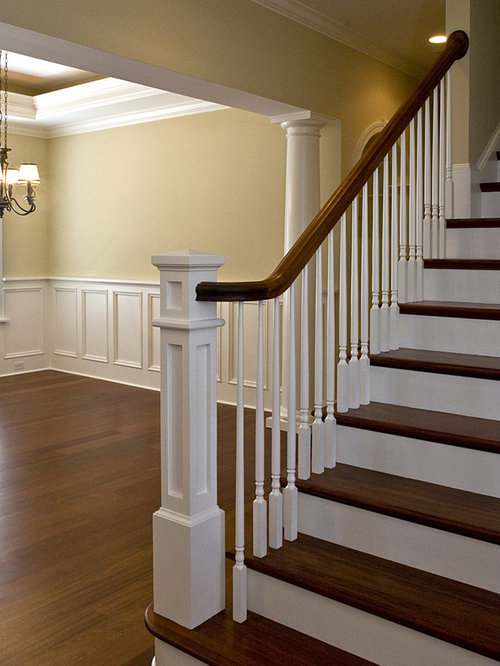 Square Newel Post Home Design Ideas Pictures Remodel And