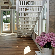 Beach Style Staircase by OUTinDesign