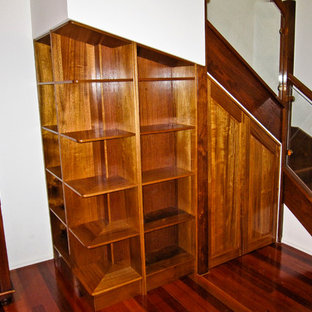 This is an example of a traditional staircase in Brisbane.