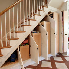 Traditional Staircase by Miles Enterprises Inc