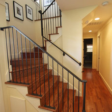 Traditional Staircase by Nunley Custom Homes