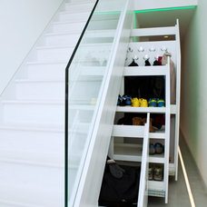 Contemporary Clothes And Shoes Organizers by Bespoke Fitted Furniture London | Avar Furniture