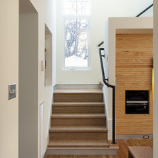 Contemporary Staircase by Loop Design