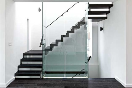 Modern Staircase by Unique Urban Homes