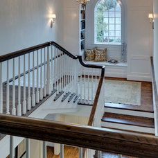 Traditional Staircase by Linda Fritschy Interior Design