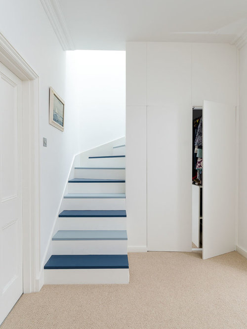 Scandinavian Paint Colors For Hallway Staircase Design