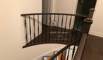 Upgrade, Install new iron picket, and newel post,  Richmond hill