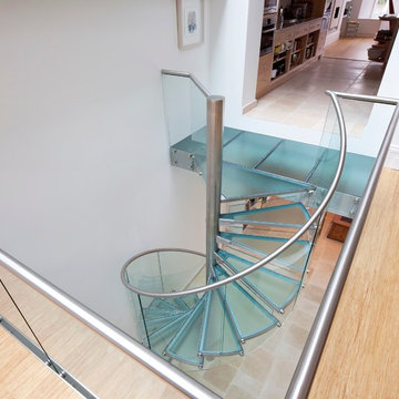 Upper Mall - Spiral Stairs Glass
