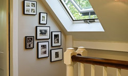 Upper Stairhall makeover