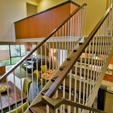 Contemporary Staircase by Archipelago Hawaii Luxury Home Designs