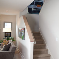 Contemporary Staircase by Insignia Homes