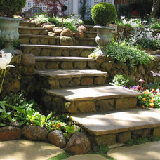 Traditional Staircase by Kate Michels Landscape Design