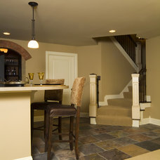 Traditional Staircase by Rivertown Homes by Design