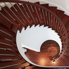 Contemporary Staircase by Citation Kitchens