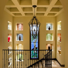 Mediterranean Staircase by JAUREGUI Architecture Interiors Construction