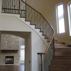 Traditional Staircase by Scarlett Custom Homes & Remodeling