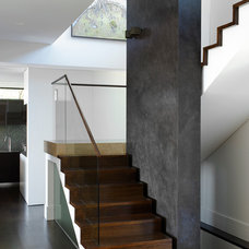 Contemporary Staircase by Leung Architects