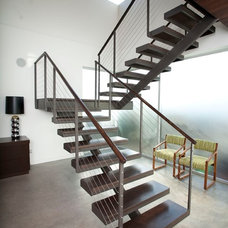 Modern Staircase by C & C Partners Design/Build Firm