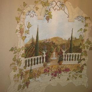 Veranda Mural curved Stairwell
