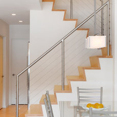 Contemporary Staircase by Elizabeth Herrmann architecture + design