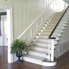 Traditional Staircase by Barnett Design Build