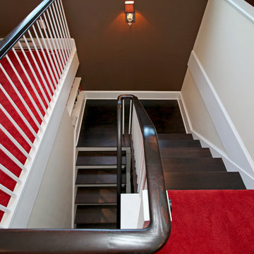 New Staircase to Newly Finished Attic, Verona NJ