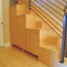 Modern Staircase Veverka Architects
