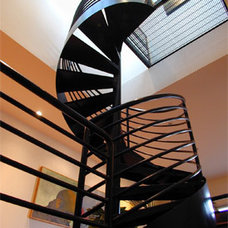 Modern Staircase Veverka Architects