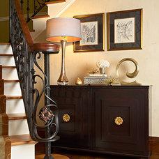 Mediterranean Staircase by Vivid Interior Design - Danielle Loven