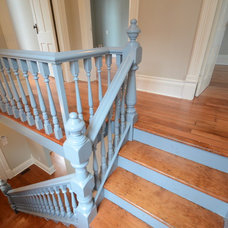 Traditional Staircase by Extraordinary League Contracting