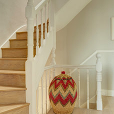 Transitional Staircase by Hartmann Designs