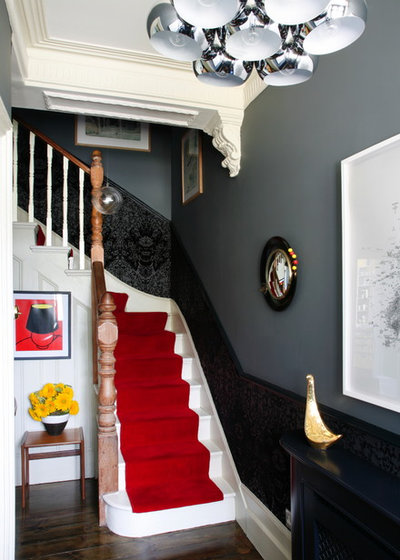 Eclectic Staircase by Alison Hammond Photography