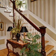 Traditional Staircase by McMahon Design Group