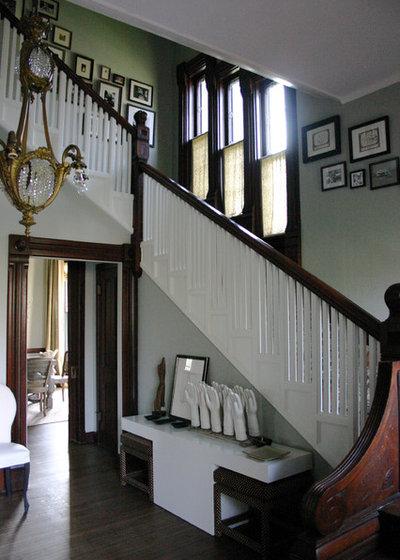 Victorian Staircase by KitchenLab | Rebekah Zaveloff Interiors