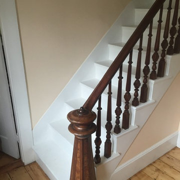 Victorian Staircase removed and rebuilt