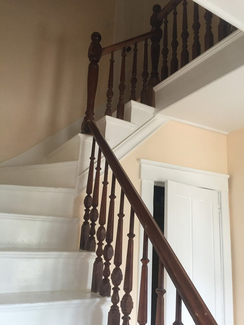 10 Victorian Painted Wood Staircase Design Ideas Remodel