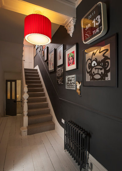 Eclectic Staircase by Raw Design