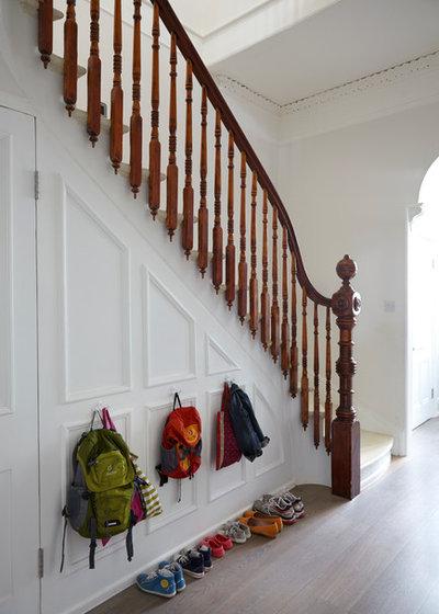 Sekelskiftes Trappa Victorien Escalier