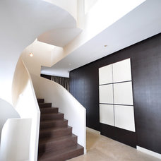 Contemporary Staircase by FOC Design