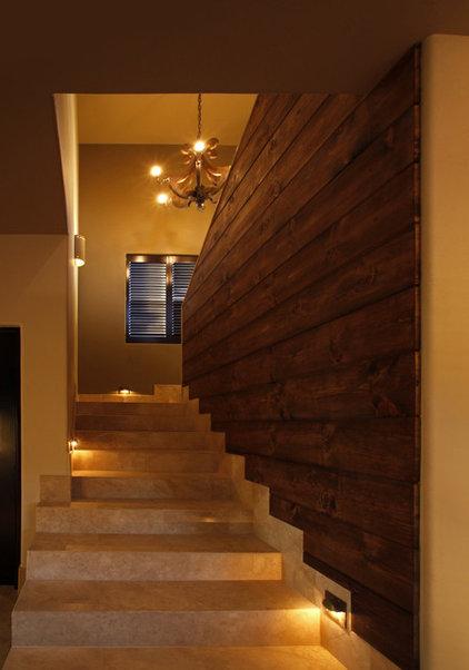 Contemporary Staircase by Kamarron Design, Inc.