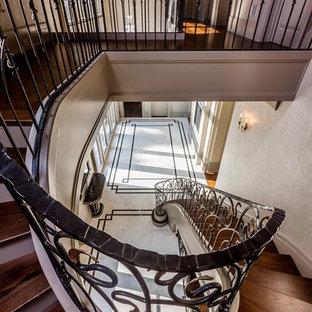 Inspiration för en medelhavsstil trappa
