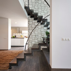 Contemporary Staircase by KYZLINK