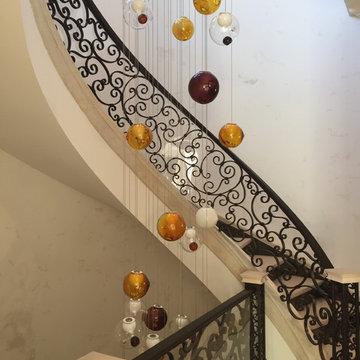 Villa Vista Le Lago Grand Staircase