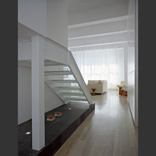 Contemporary Staircase by Peter Tow