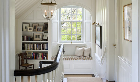 The Savvy Staircase: 7 Ways to Get More Use From Your Landing
