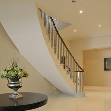 Contemporary Staircase by Elite Metalcraft Co. Ltd